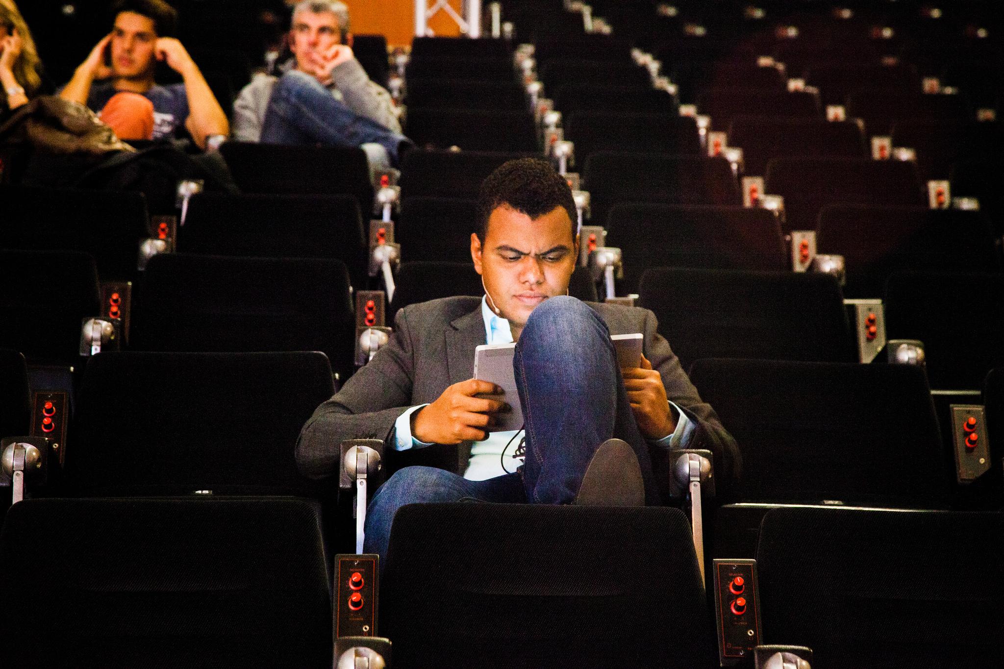 Arturo Paniagua, presentador de EBE 14