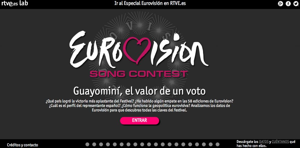 Guayominí, el valor de un voto. Eurovisión en RTVE.es