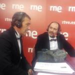 Karra Elejalde y Antonio Banderas en los Premios Goya