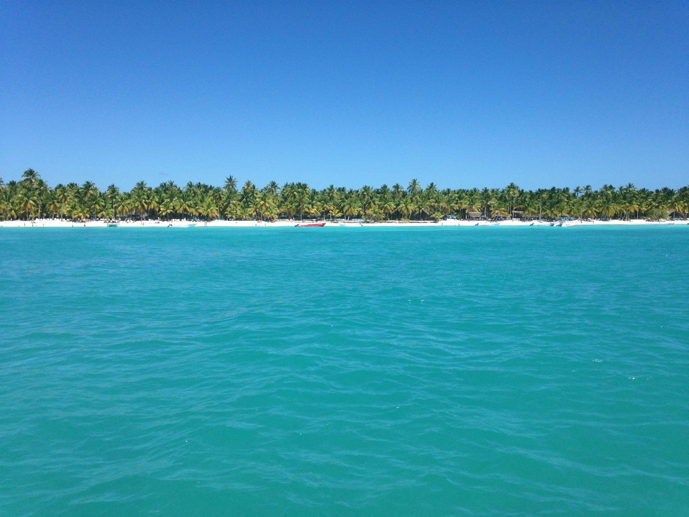 Isla Saona, el paraíso. Foto: Carla Varona