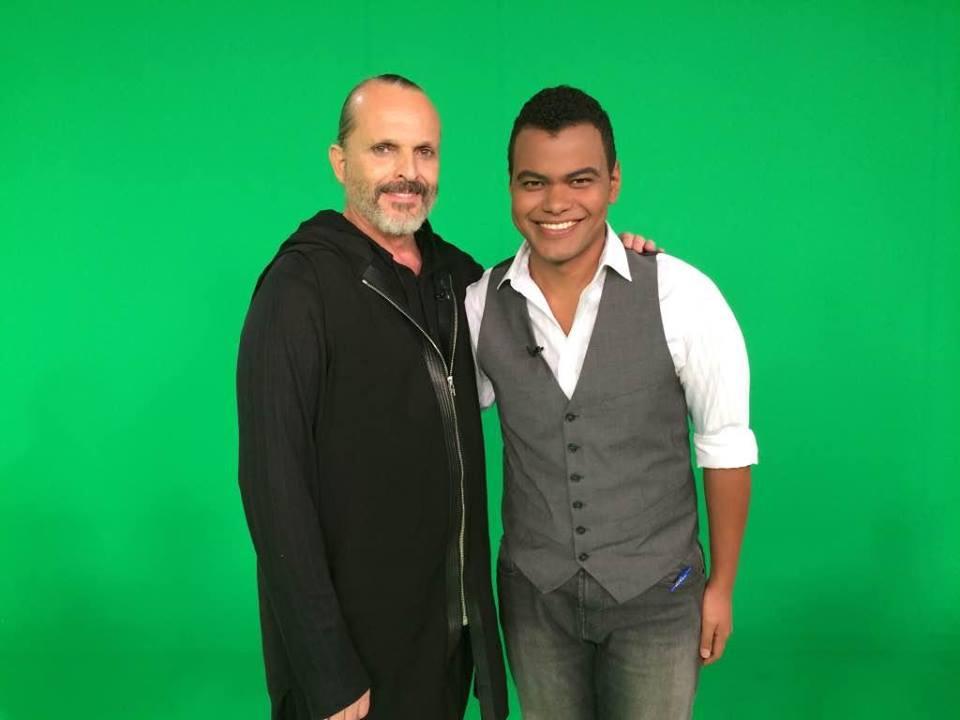 Miguel Bosé en Nos vemos en las redes, en RTVE.es