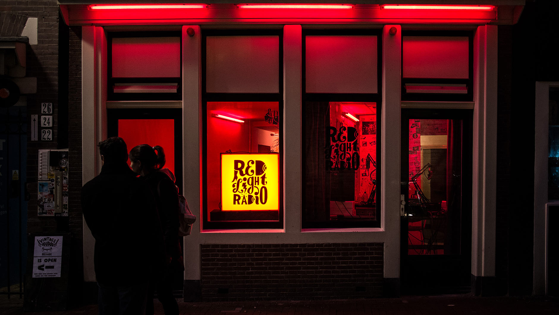 Red Light Radio, en Ámsterdam