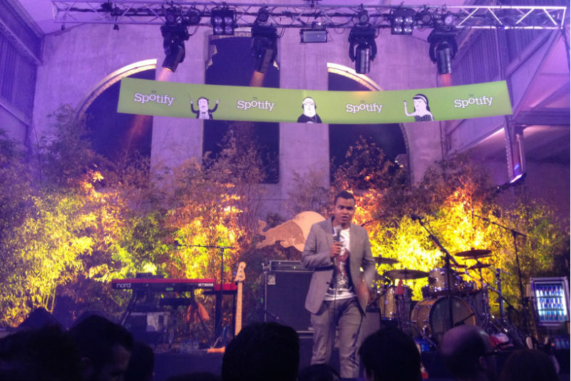 Spotify Party 2012