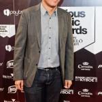 Arturo Paniagua en la entrega de los Vicious Music Awards