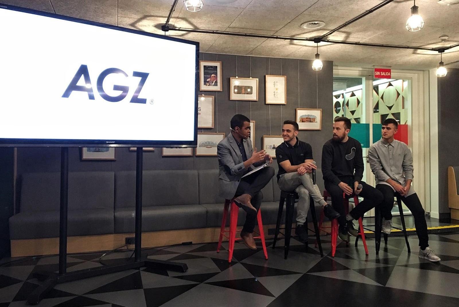 Arturo Paniagua presenta a Agorazein en YouTube Rewind 2016