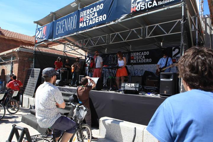 El escenario más sostenible del Día de la Música