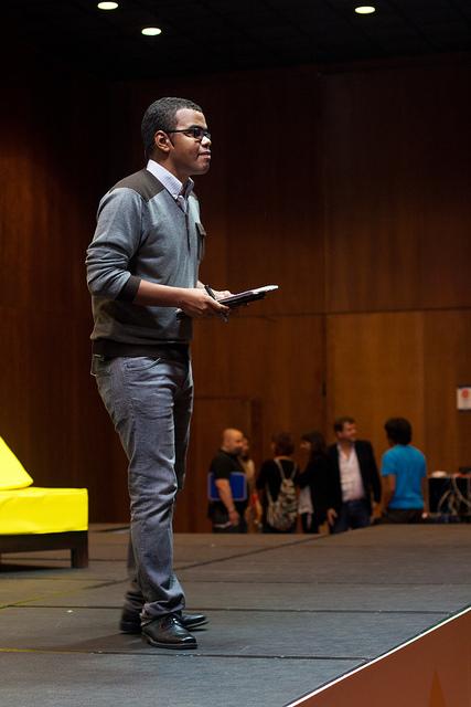 Arturo Paniagua presentando EBE 2012