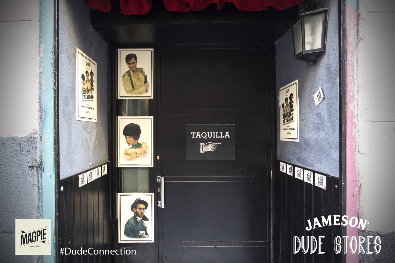 Magpie, una de las Dude Stores de Jameson en Malasaña