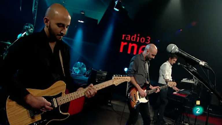 Presentando a Pasajero en 'Los conciertos de Radio 3'
