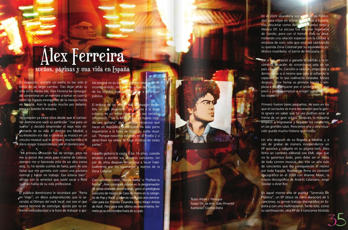 Álex Ferreira: sueños, páginas y una vida en España
