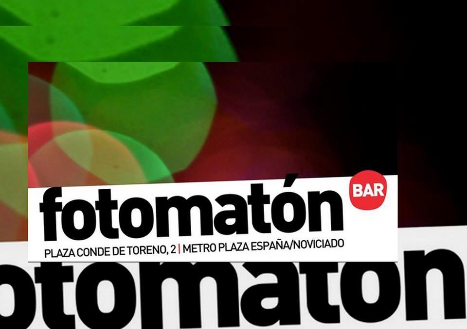 Nueva sesión en el Fotomatón Bar